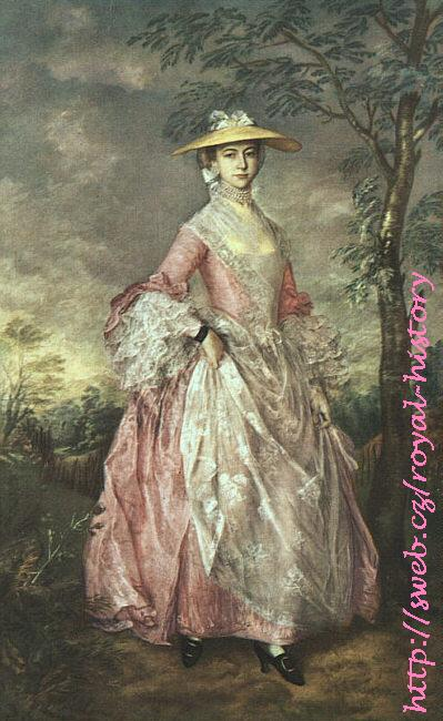 Thomas Gainsborough - Mary,  Countess Howe