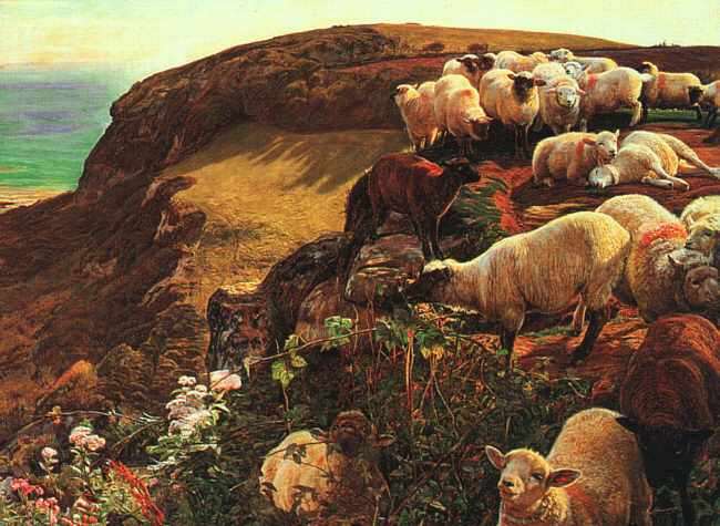 William Holman Hunt - On English Coasts
