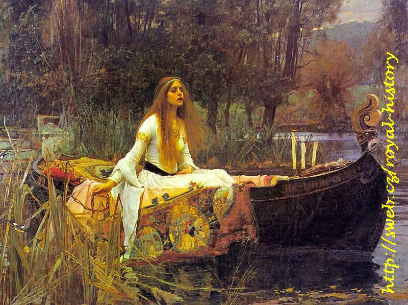 John William Waterhouse - The Lady of Shallot