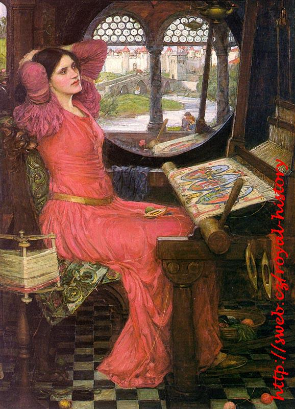 John William Waterhouse - I'm Half Sick of Shadows,said the Lady of Shallot